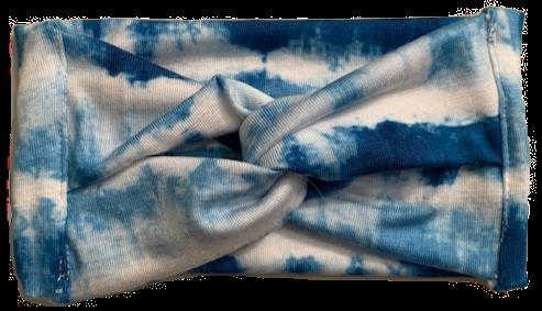 Island Tie Dye Baby Knit Headband