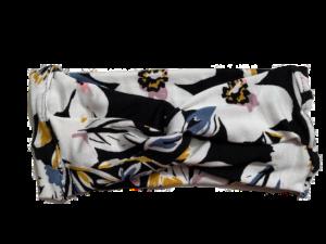 Midnight Floral Knit Headband